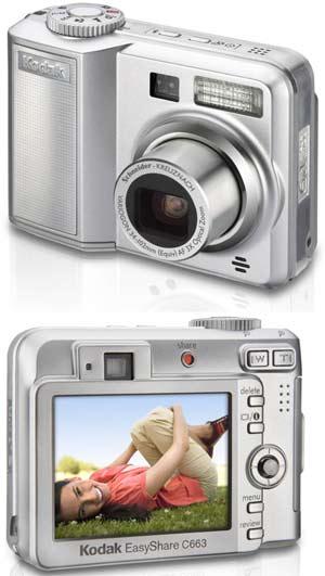 Digitální fotoaparát Kodak EasyShare C663