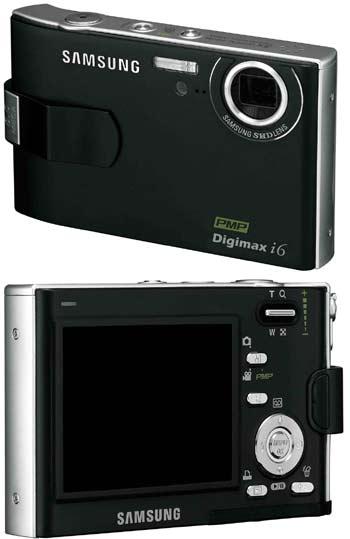 Digitální fotoaparát Samsung Digimax i6