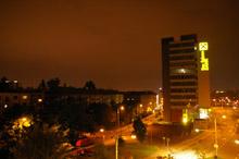 Digitální fotoaparát GX-1L - Noční scéna