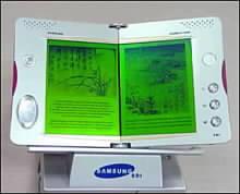 Elektronická kniha v podání společnosti Samsung