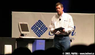 Šéf společnosti SUN Microsystems Scott McNealy