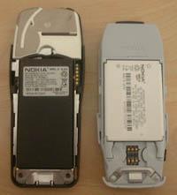 Nokia 3210 x 3310 - rozbor zezadu