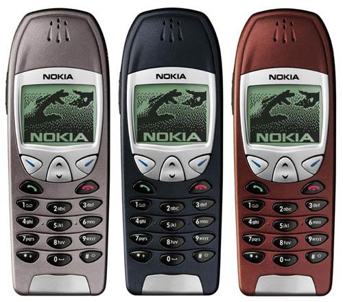 Ретро-трубки Nokia 6210 refurbished
