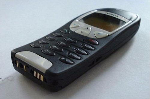 Nokia 6210 - z boku zdola