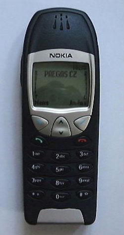 Nokia 6210 - zepředu