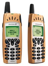 Ericsson R520 - takhle vypadá z boku