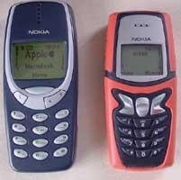 Nokia 5210 a porovnání s Nokia 3310