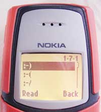 Nokia 5210 a smajlíci do SMS zpráv