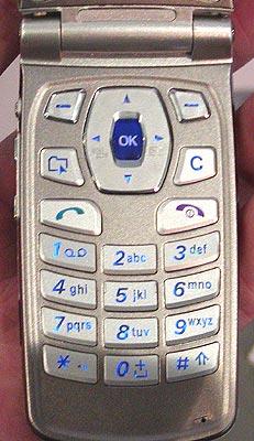 LG G7000 - klávesnice