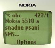 Nokia 5510-displej