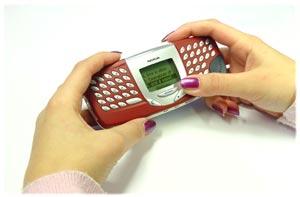 Nokia 5510 v ruce