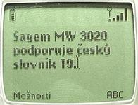 Sagem MW 3020