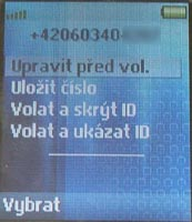 Sony Ericsson T630 - displej