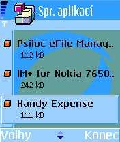 Nokia 6600 - displej