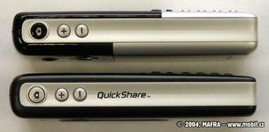 Srovnání Sony Ericssonu T630 a T610