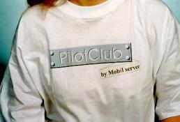 Tričko PilotClub by Mobil server