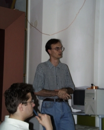 První přednášející Lukáš Mikšíček
