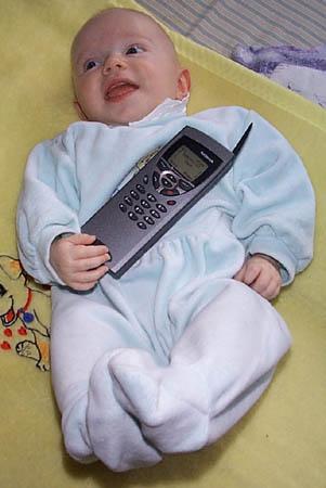 Moje dcera Vanda si také Nokia 9110 oblíbila...