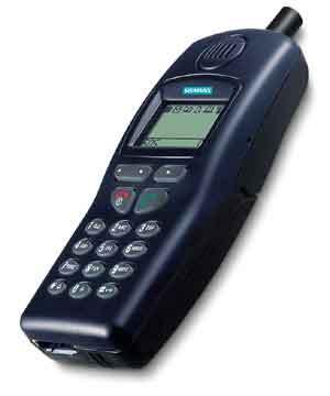 Takhle vypadá Siemens C25D - trochu jako Nokia 5110, nemyslíte?