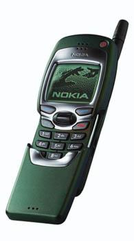 Vysunutý telefon Nokia 7110