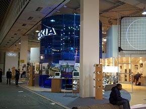 stánek firmy Nokia na Cebitu