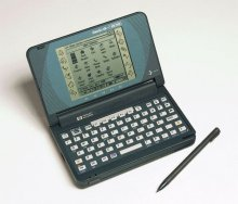 HP OmniGo 100 jako palmtop