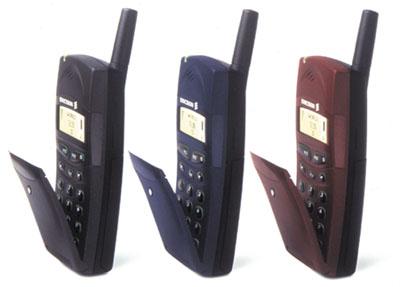 Ericsson T18s - barvy