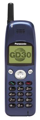 Panasonic GD30 z čelního pohledu