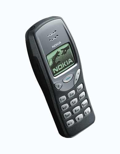 Nokia 3210 v základní barvě