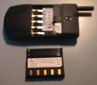 Vyjmutá baterie