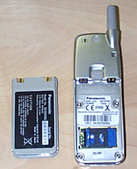 Panasonic GD 90 rozlozeny