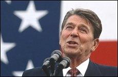 Ronald Reagan na archivním snímku